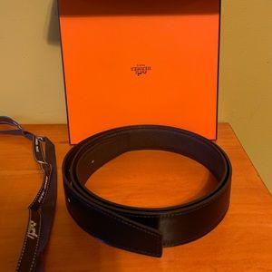 HERMES 32MM belt strap